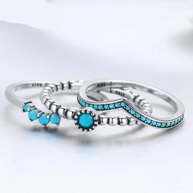 3pc Layered Stackable Ring