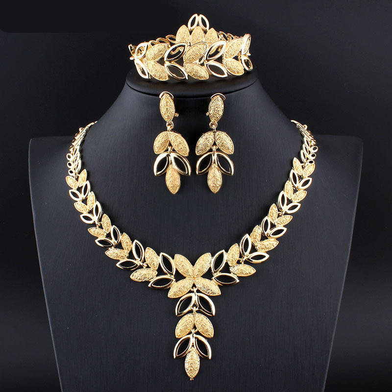 Gold Color Jewelry Set